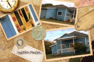 Judith's studio in Port Hadlock, Washington - just south of Port Townsend
