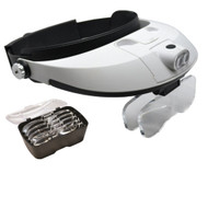 5 Lens Binocular Visor with dual LED