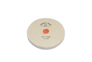 """Finex Buffs W/Shellac Center 5"""" x 55 Ply 5 Rows Of Stitching For Tapered Spindle (pack of 12)"""