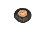 "Wood Hub Brush, 4 Rows of Bristle, 3"" Overall Diameter (pack of 1)"