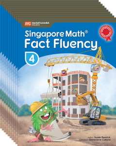 Singapore Math® Fact Fluency - Grade 4 (10 Pack)