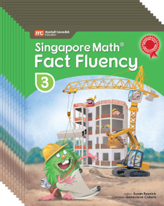 Singapore Math® Fact Fluency - Grade 3 (10 Pack) - Restocking Aug 1, 2018