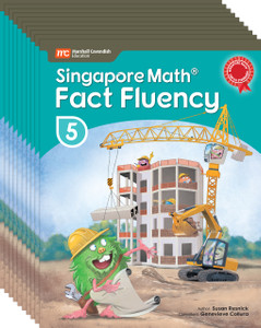 Singapore Math® Fact Fluency - Grade 5 (10 Pack)