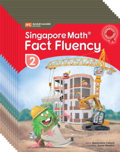 Singapore Math® Fact Fluency - Grade 2 (10 Pack)