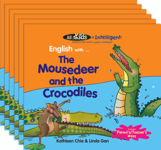 English with...The Mousedeer and the Crocodiles (6 Pack)