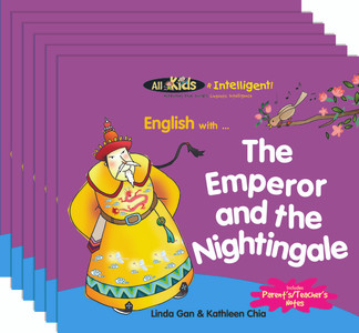 English with...The Emperor and the Nightingale (6 Pack)