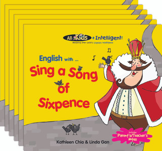 English with...Sing a Song of Sixpence (6 Pack)