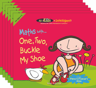 Maths with...One, Two, Buckle My Shoe (6 Pack)