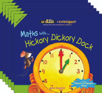 Maths with...Hickory Dickory Dock (6 Pack)