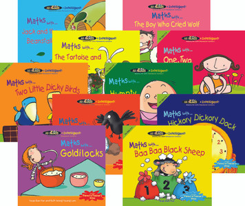 All Kids R Intelligent! Maths Readers (Classroom Set of 10)
