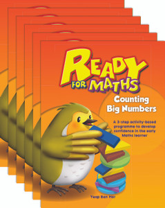 Ready for Maths: Counting Big Numbers (6 Pack)