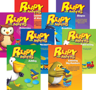 Ready for Maths (Classroom Set of 8)