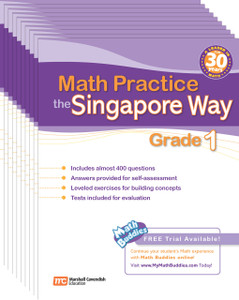 Math Practice the Singapore Way Grade 1 (10 Pack)