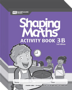 Shaping Maths: Activity Book Grade 3B (10 Pack)