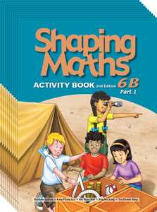 Shaping Maths: Activity Book Grade 6B Part 1 (10 Pack)