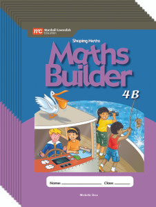 Shaping Maths: Maths Builder Grade 4B (10 Pack)