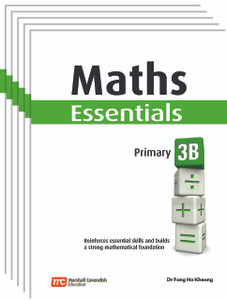 Maths Essentials Grade 3B (6 Pack) - Low Stock, Restocking Aug 1, 2018
