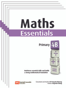 Maths Essentials Grade 4B (6 Pack) - Low Stock, Restocking Aug 1, 2018