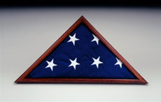 Poplar Memorial Flag Case