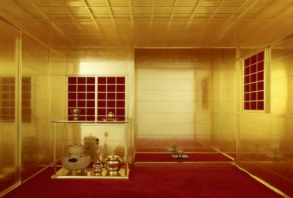 hodeyoshi's golden tea room