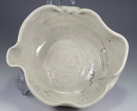 sale: Otagaki Rengetsu poem pottery bowl w Isso seal