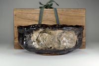 sale: Kuro Oribe Antique Japanese pottery bowl w box