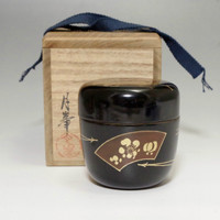 Natsume - Japanese Lacquered Tea Caddy