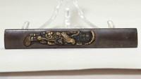 Antique Inlaid Kozuka - Japanese Sword Fitting