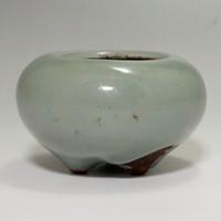 Antique Japanese celadon Incense burner