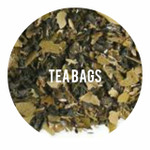 Organic Lemon Ginseng Green - 25 TEA BAGS