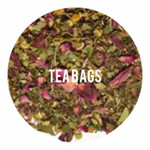 Organic Tulsi Rose Petals - 25 Bags
