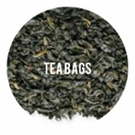 Organic Gunpowder Green - 25 TEA BAGS