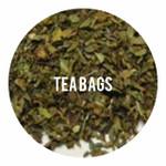 Organic Carob Mint - 25 TEA BAGS