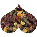 Organic Autumn Fruit Flower Loose Leaf Tea