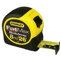 Stanley 33-726 FatMax Blade Armor Measuring Tape 8m/26'