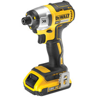 Dewalt DCF886D2 18V Li-ion Cordless Brushless Impact Driver (2 x 2Ah batteries)