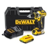Dewalt DCD790D2 18V XR Brushless Compact Li-Ion Drill Driver (2 x 2Ah Batteries)