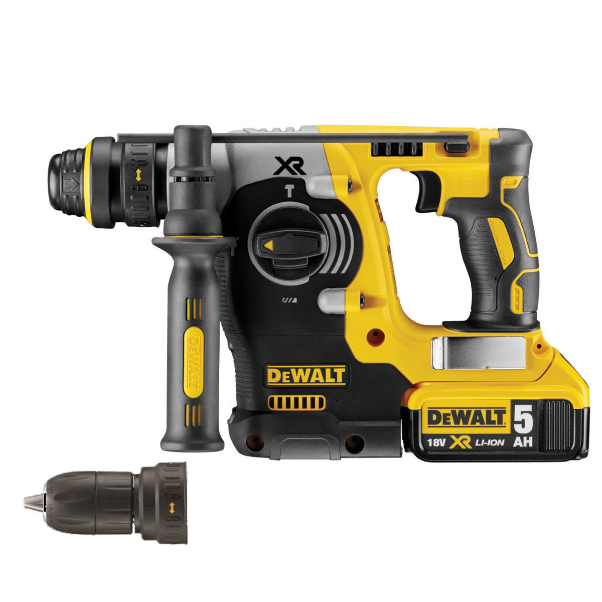 dewalt dch274p2 18v xr li ion sds hammer drill. Black Bedroom Furniture Sets. Home Design Ideas