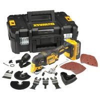 Dewalt DCS355D1 18v Cordless Multi Tool (1 x 2Ah Batteries)