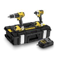 Dewalt DCK285M2 Twin Pack 18V XR 4Ah Li-ion Combi Drill & Impact Driver