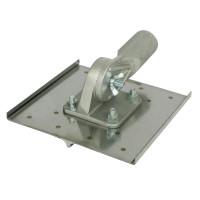 "Marshaltown 8"" X 8"" Walking Chicago Groover - 1/2"" Radius - 3/4"" Deep"