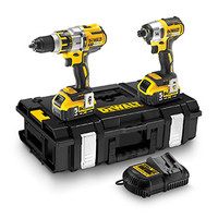 Dewalt DCK255P2 18V XR Li-Ion Brushless Combokit (Premium HDD and Impact)
