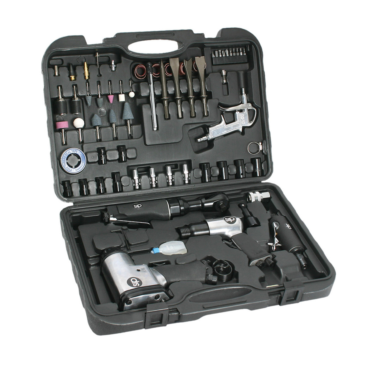 Sip 07197 73 piece air tool kit mcquillan tools for Sip kits