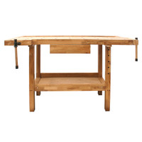 SIP 01441 Oak Wooden Work Bench