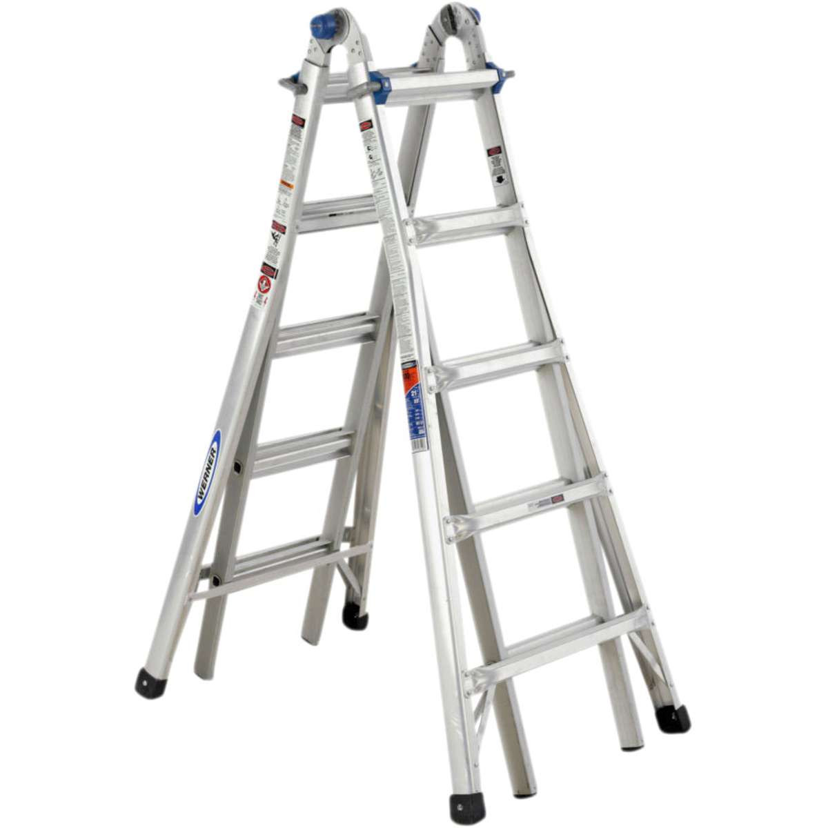 Werner 75055 Telescopic Combination Ladder 4x5 Mcquillan
