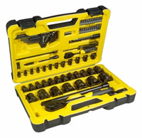 Stanley Tech3 1/4 1/2in 78Pce Socket Set