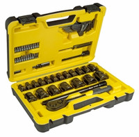 Stanley Tech3 1/2in 61 Piece Socket Set
