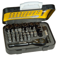 Stanley Tech3 39Pce Ratchet Bit Set