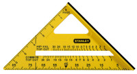 Stanley 300mm(12in) Dual Colour Square