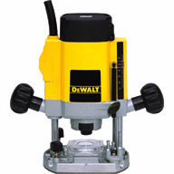 "Dewalt DW615 900 W - ¼"" (6-8 mm) Variable Speed Plunge Router"